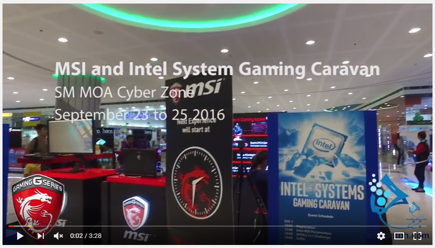 Techbeatph.com: MSI and Intel Systems Gaming Caravan