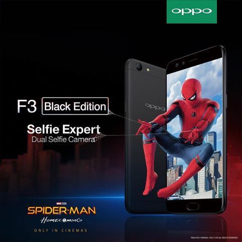 Experience the thrill of Spider-man: Homecoming with OPPO