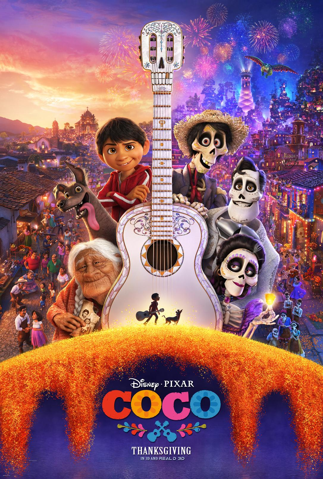 "FIND YOUR VOICE WITH NEW TRAILER OF DISNEY-PIXAR'S ""COCO"""