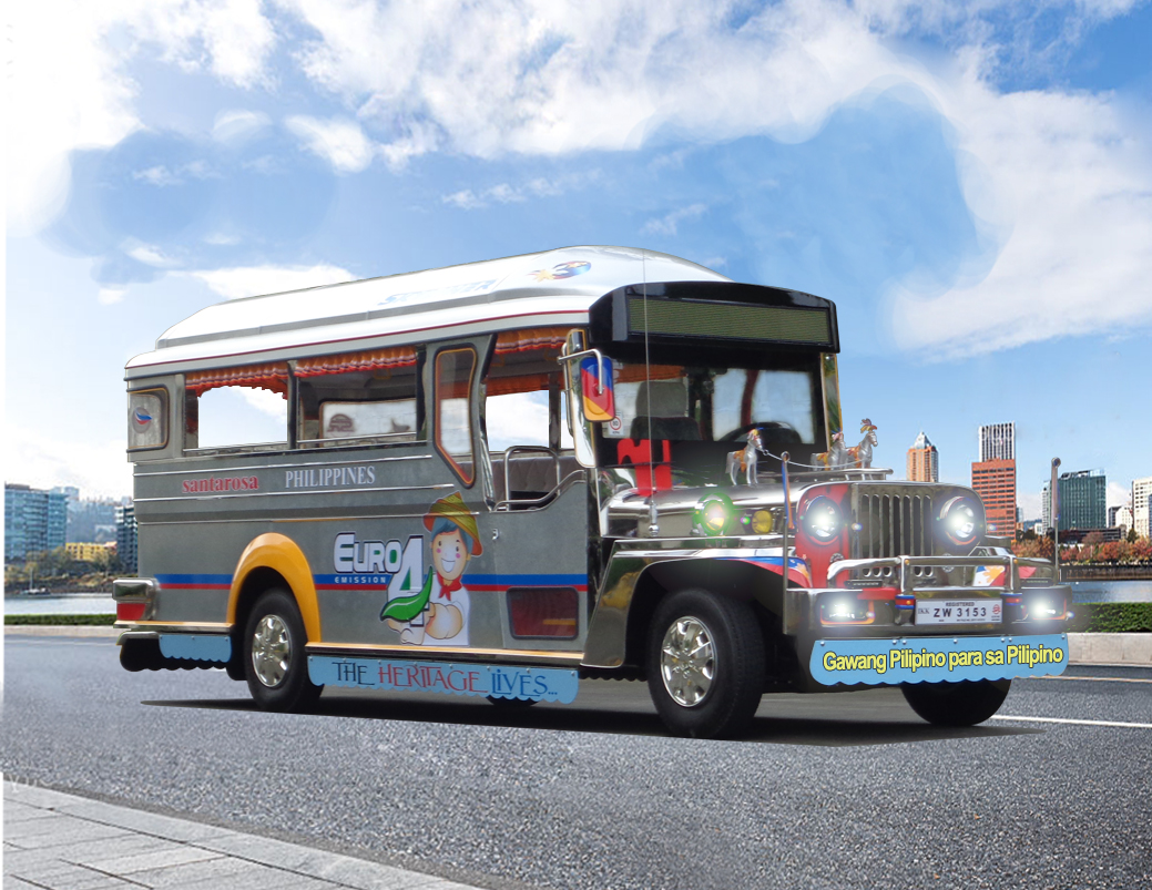 Sta. Rosa Motor Works, Inc. Prototype PUV's aim to preserve the Iconic Jeepney culture