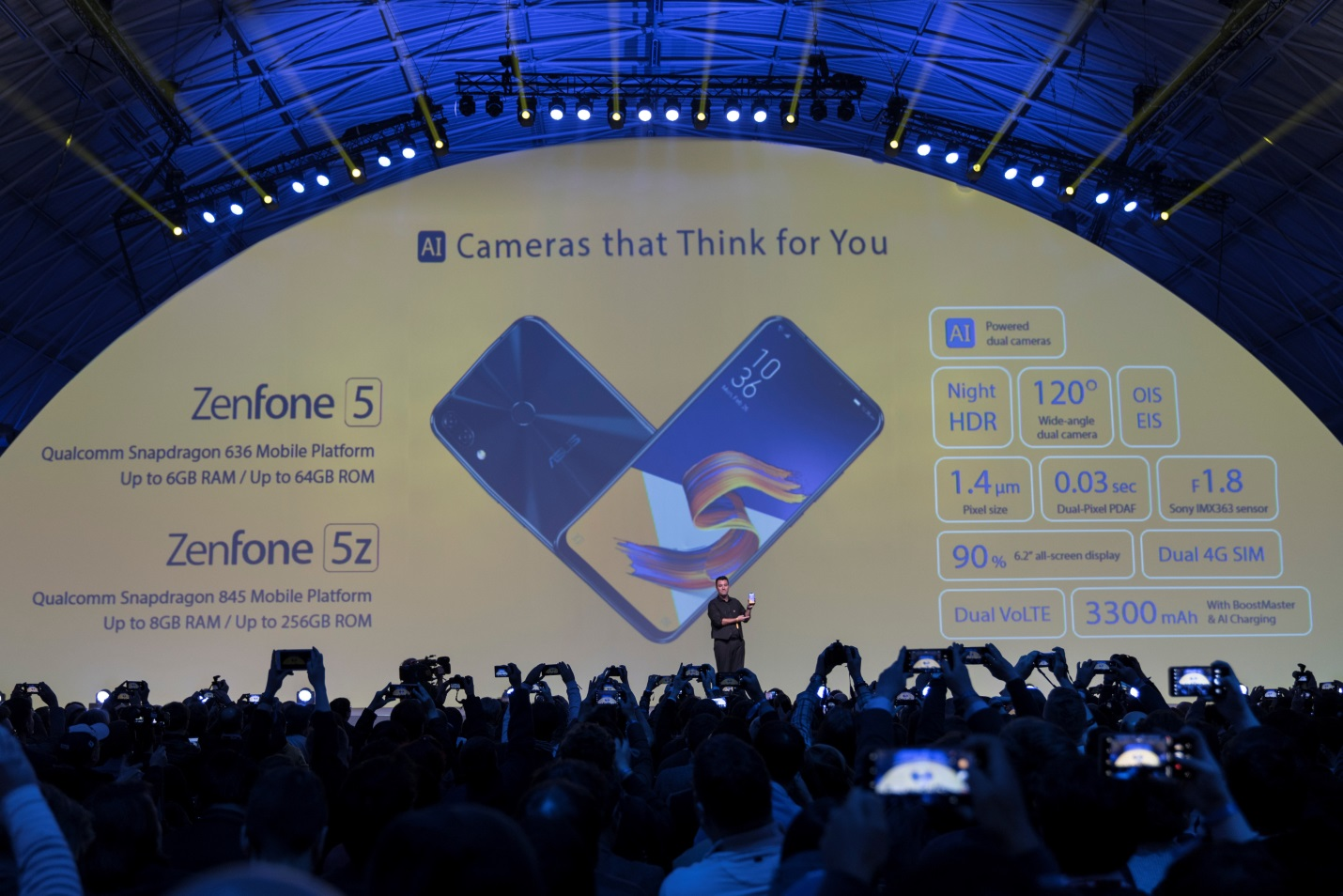 ASUS'  ZenFone 5 Series, Takes MWC 2018 and the World by Storm