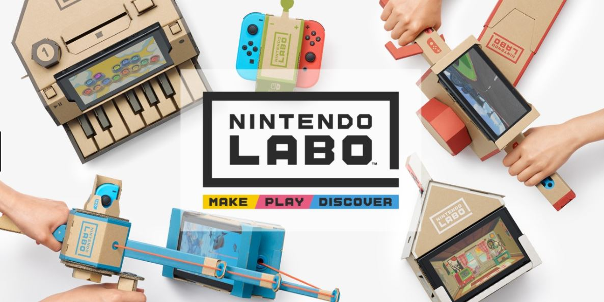 Nintendo Labo… an old school play on new school tech???