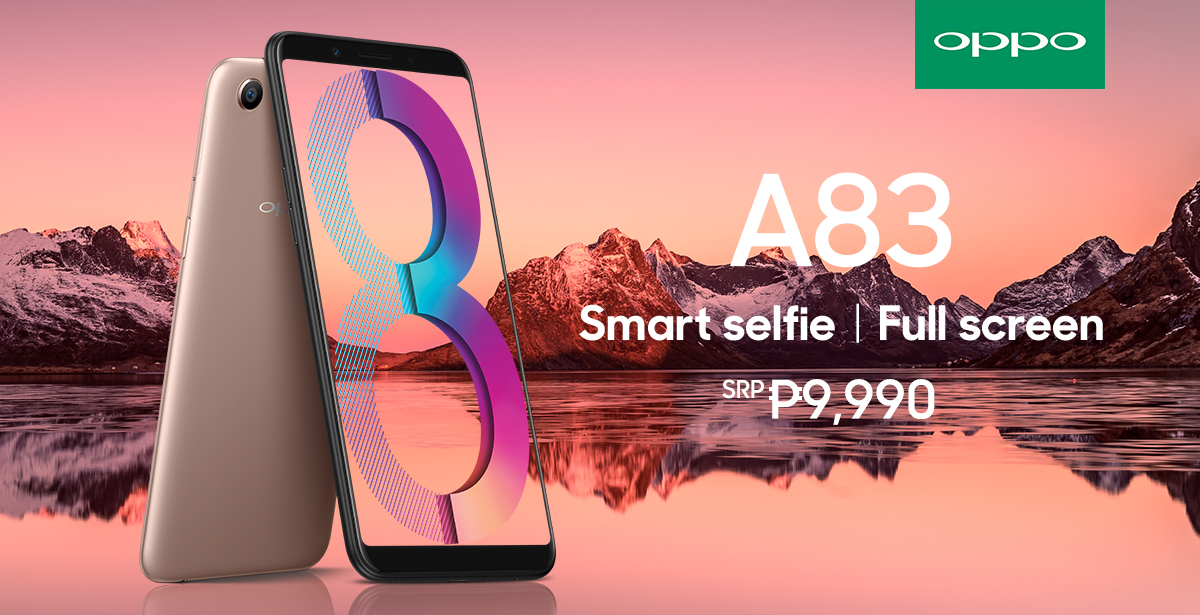 OPPO A83 offers the best value for money Smartphone.