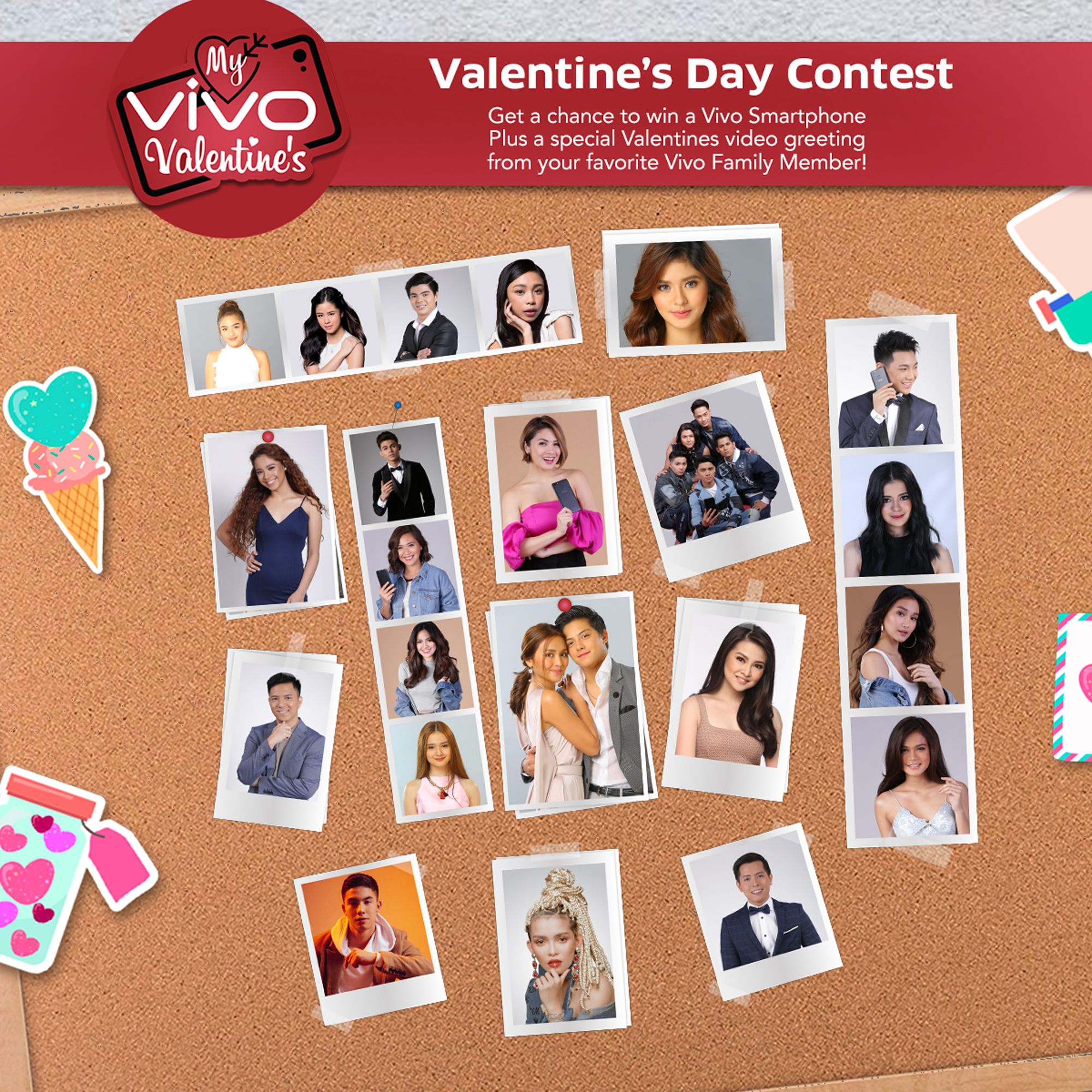 A whole lot of love this February with My Vivo Valentine Selfie Contest