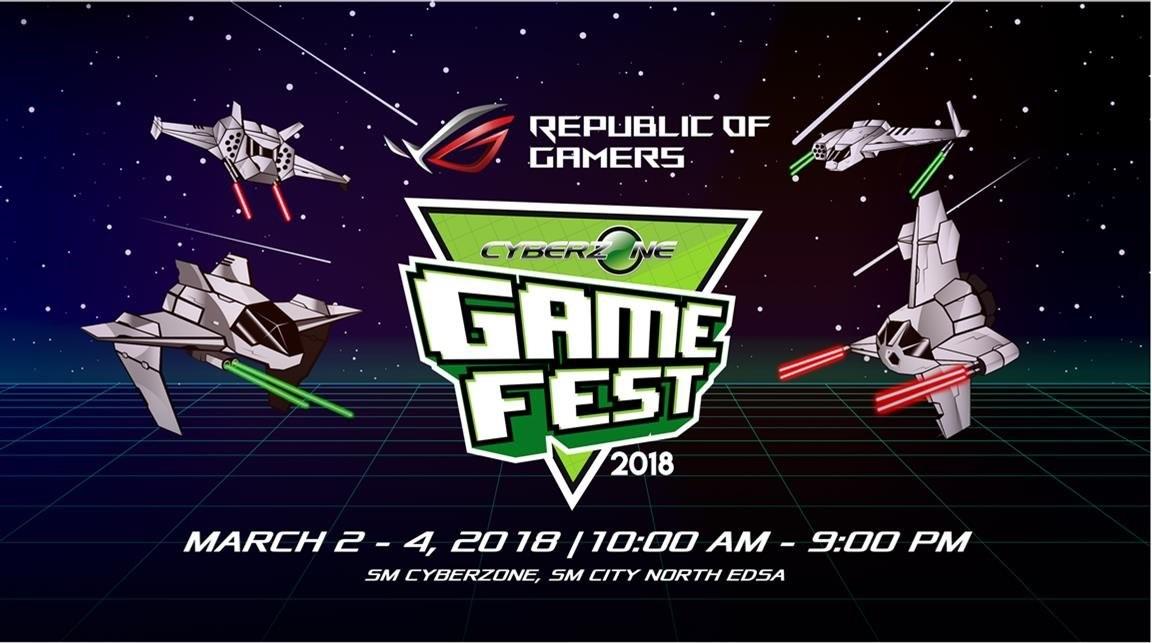 SM Cyber Zone Gamer Fest 2018