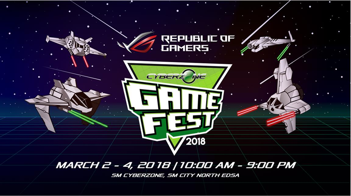 ASUS Republic of Gamers Joins Cyberzone Game Fest