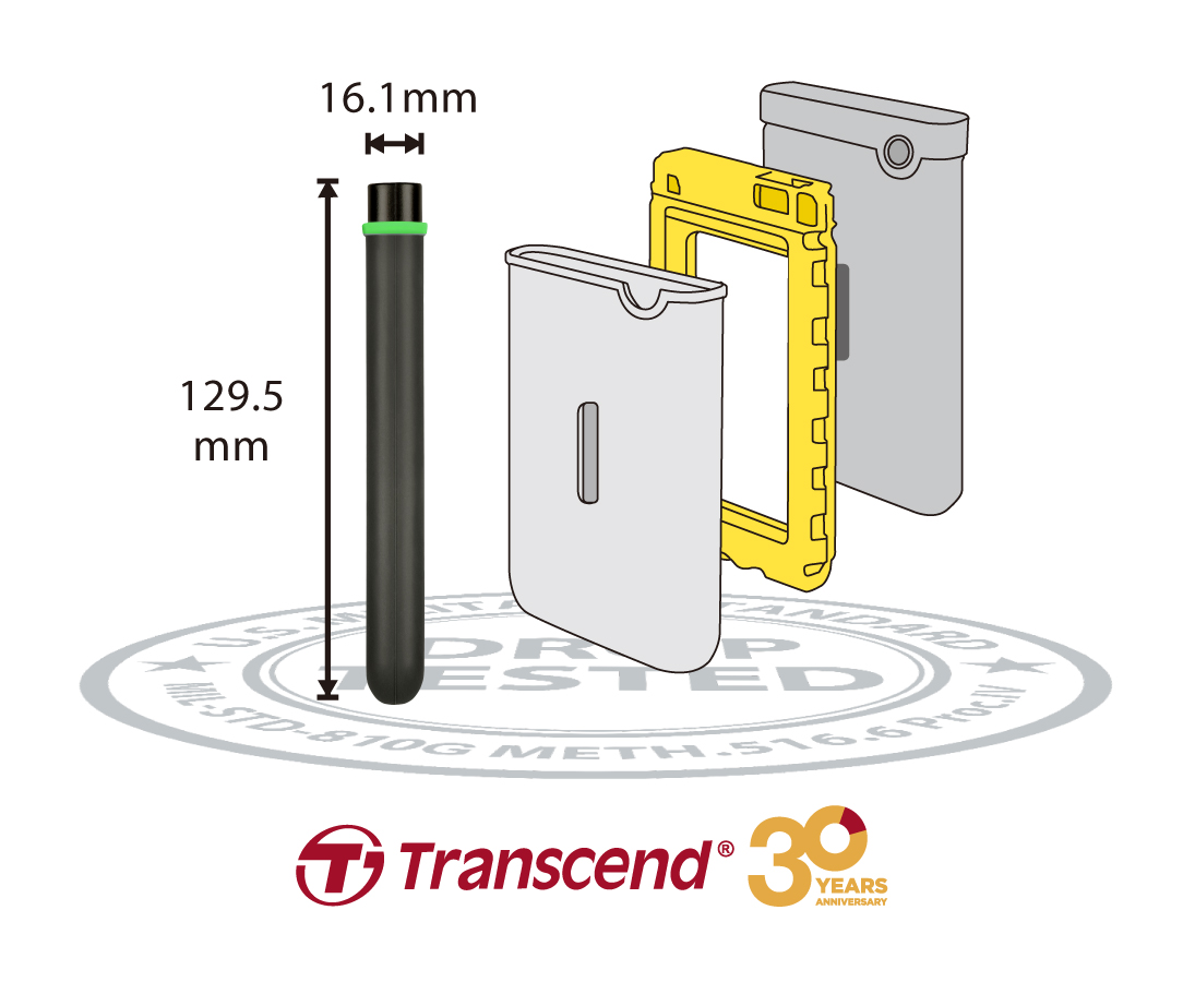 Transcend Introduces StoreJet Military-Grade HD