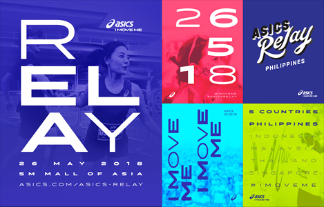 ASICS RELAY 2018 KICKS OFF 5 COUNTRY SERIES