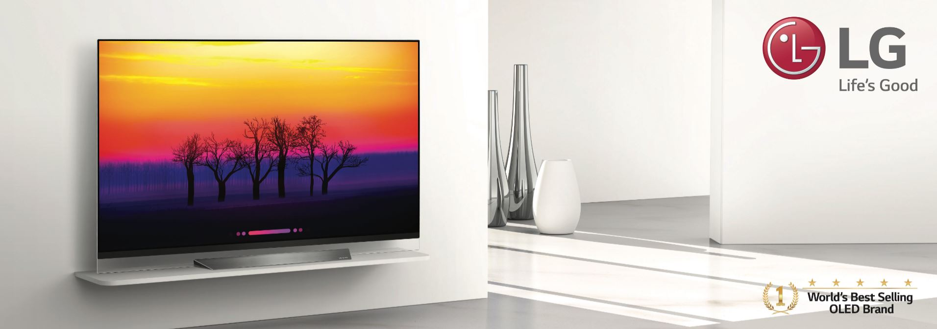 LG IS THE WORLD'S BEST-SELLING OLED TV BRAND