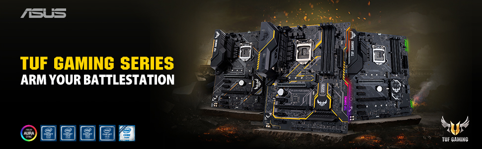 ASUS Announces H370, B360 and H310 Motherboards