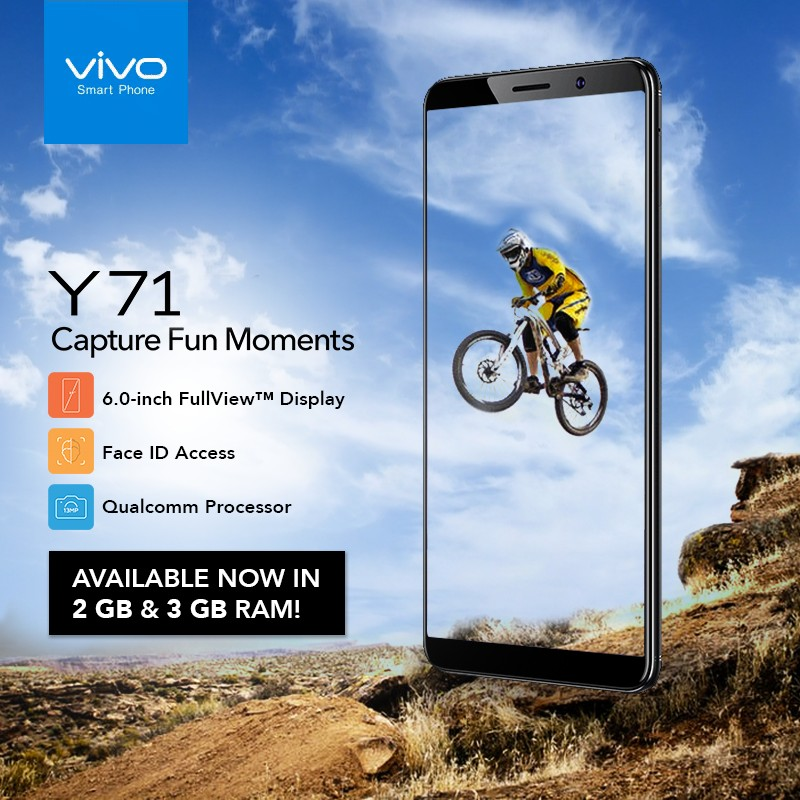 Now in the PH: Capture fun moments with Vivo Y71