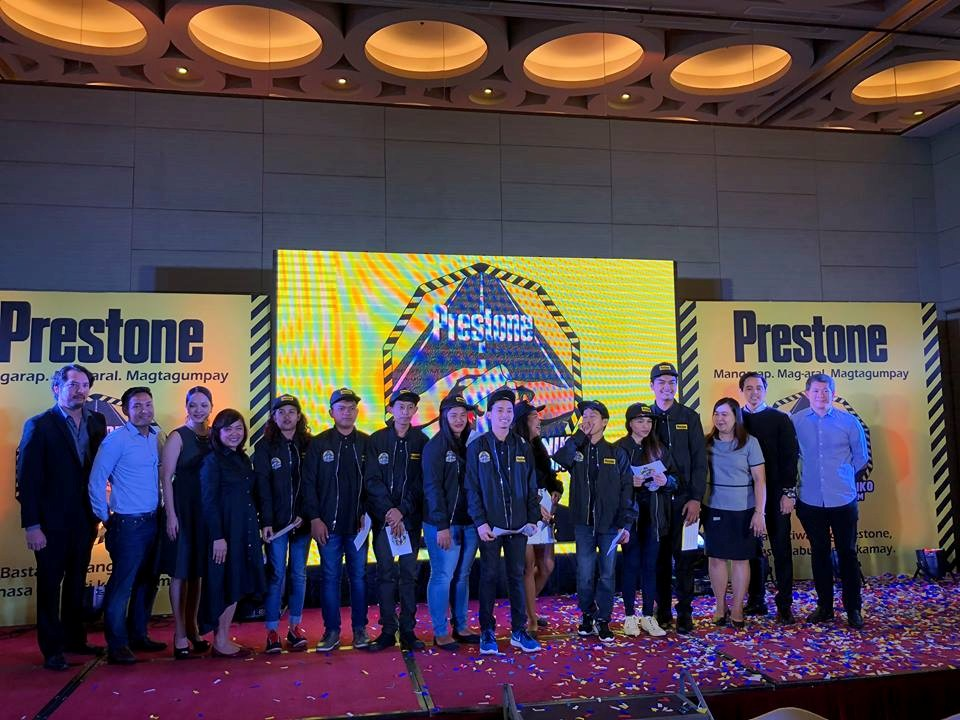 Prestone introduces nine 'Anak ng Mekaniko' scholars