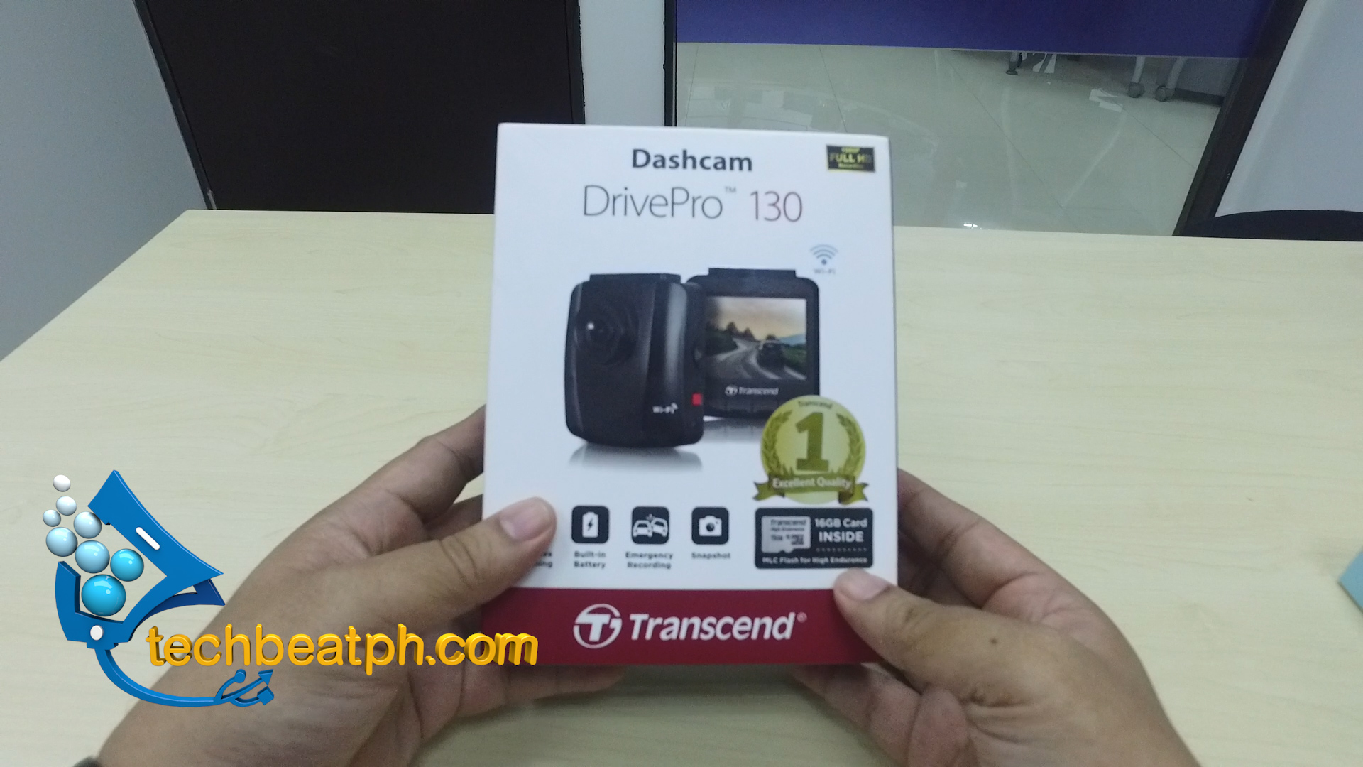 Transcend Dashcam Drive Pro 130