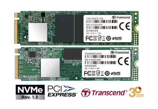 Transcend Introduces High-Performance PCIe NVMe