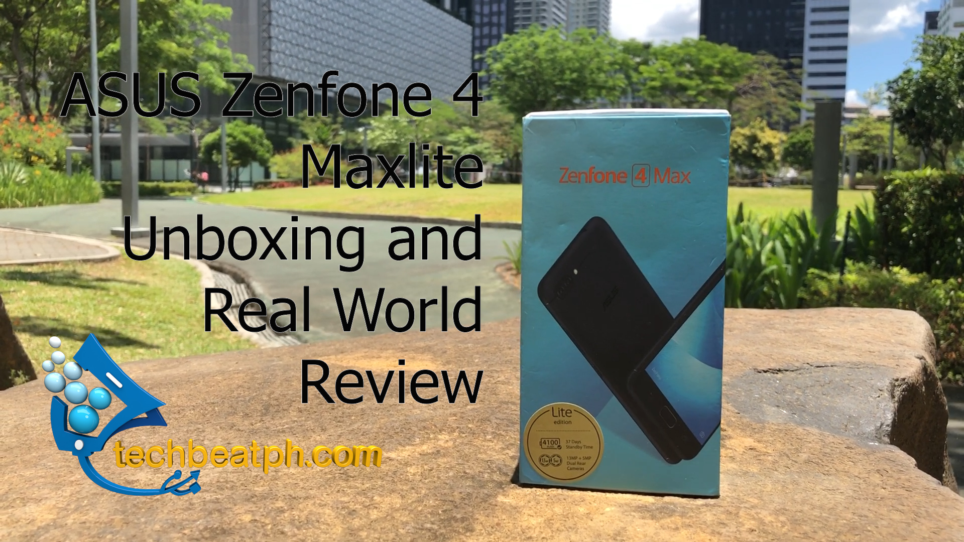 ASUS Zenfone4 MaxLite Unboxing and Review