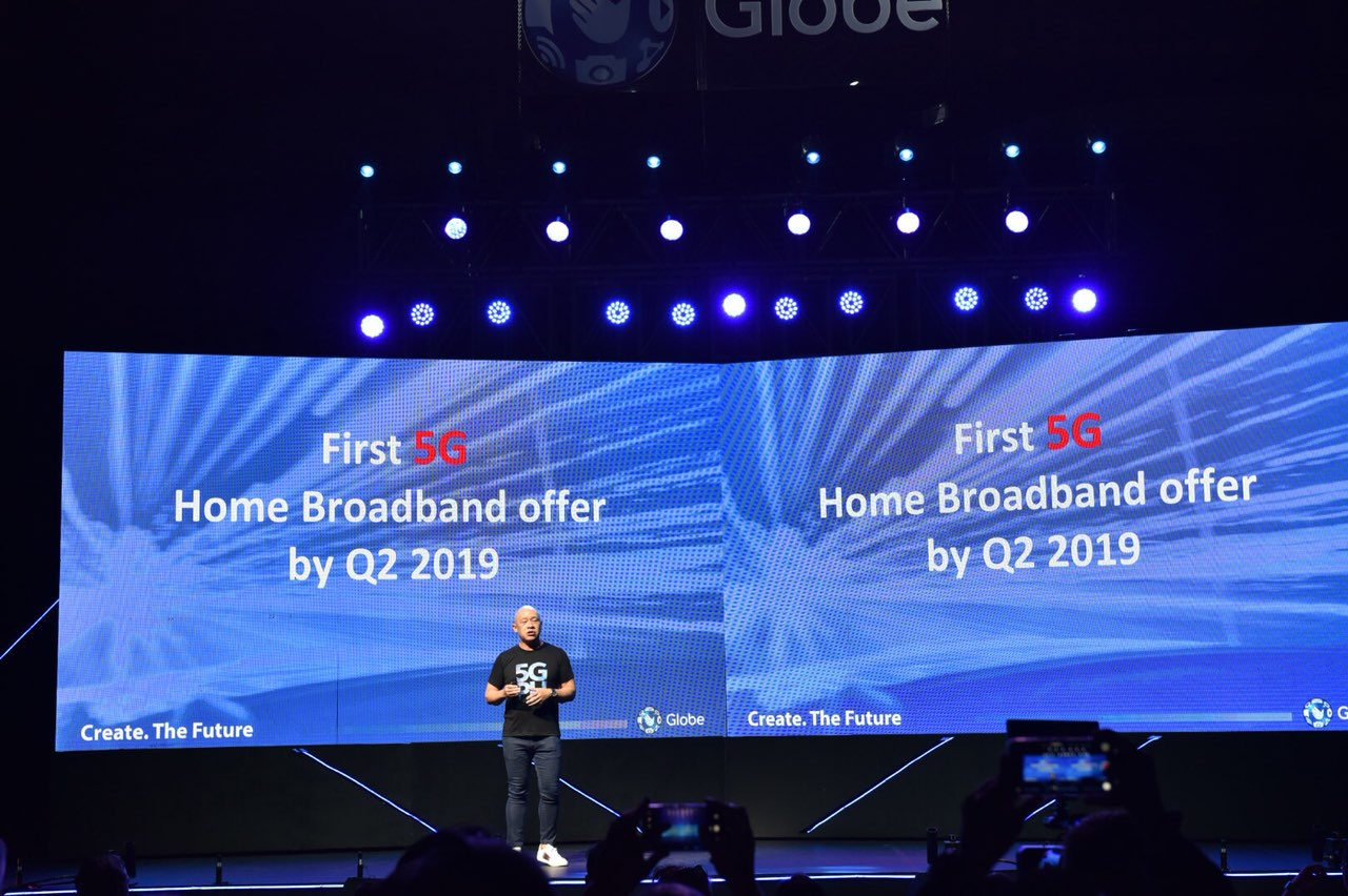Globe brings 5G technology to the Philippines