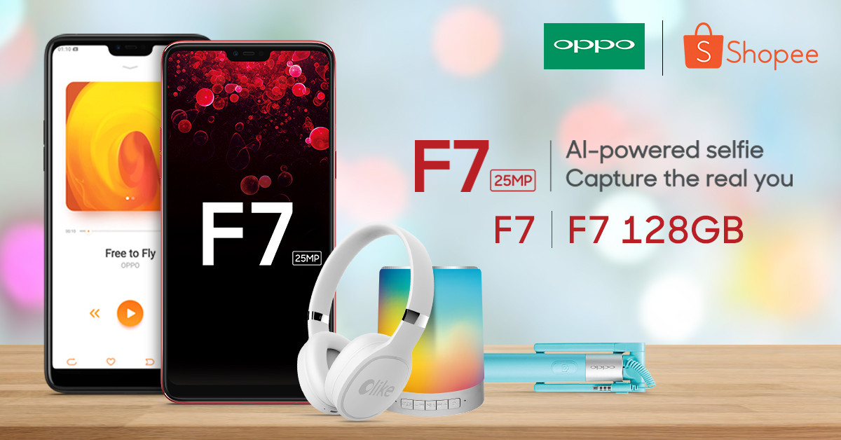 OPPO & Shopee ramp up deals with F7 package