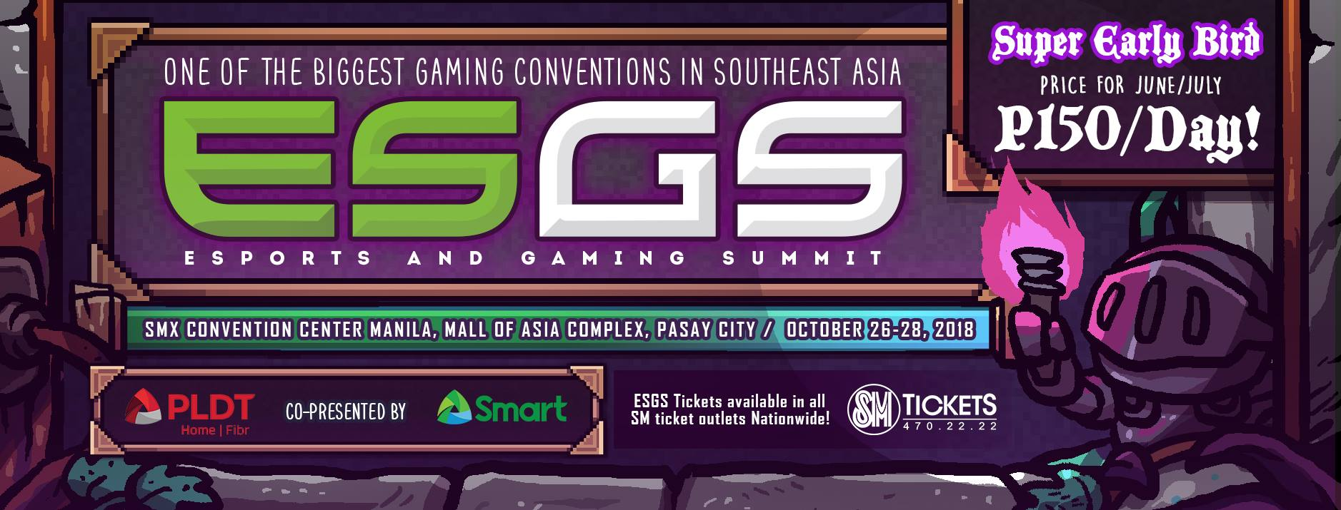 ESGS 2018 partners with PLDT Home Fibr and Smart
