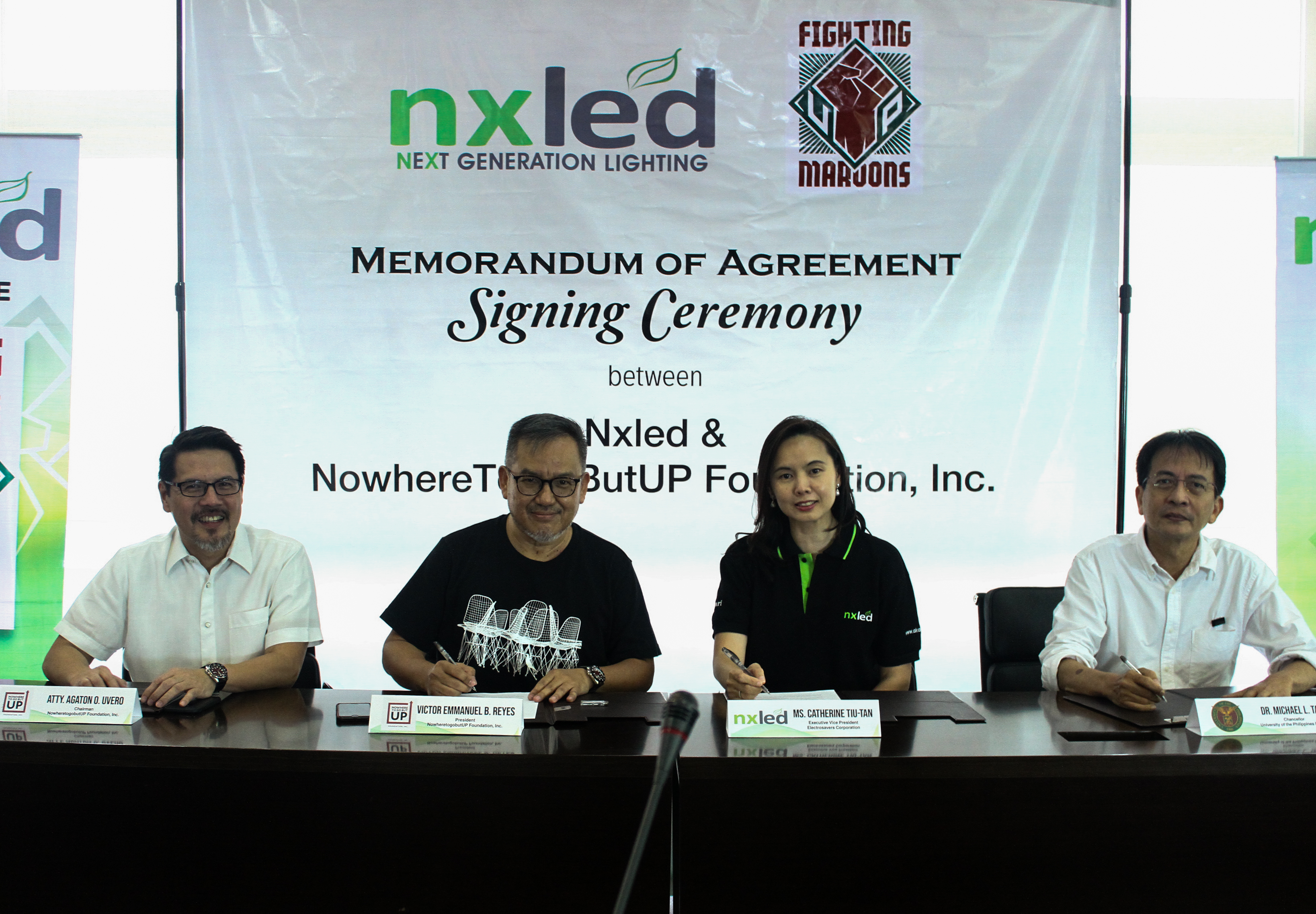 UP Fighting Maroons renews partnership deal w/ Nxled