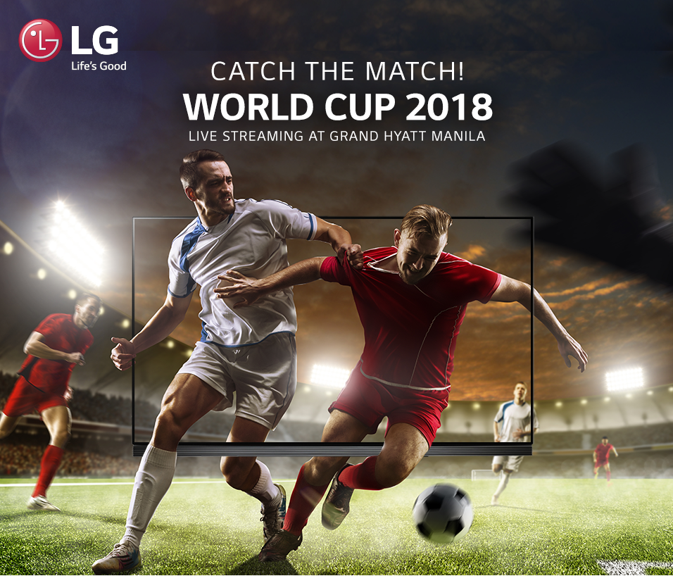 Best World Cup Experience, by LG and Grand Hyatt