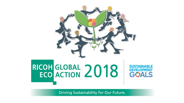 Ricoh encourages to think and act for the environment