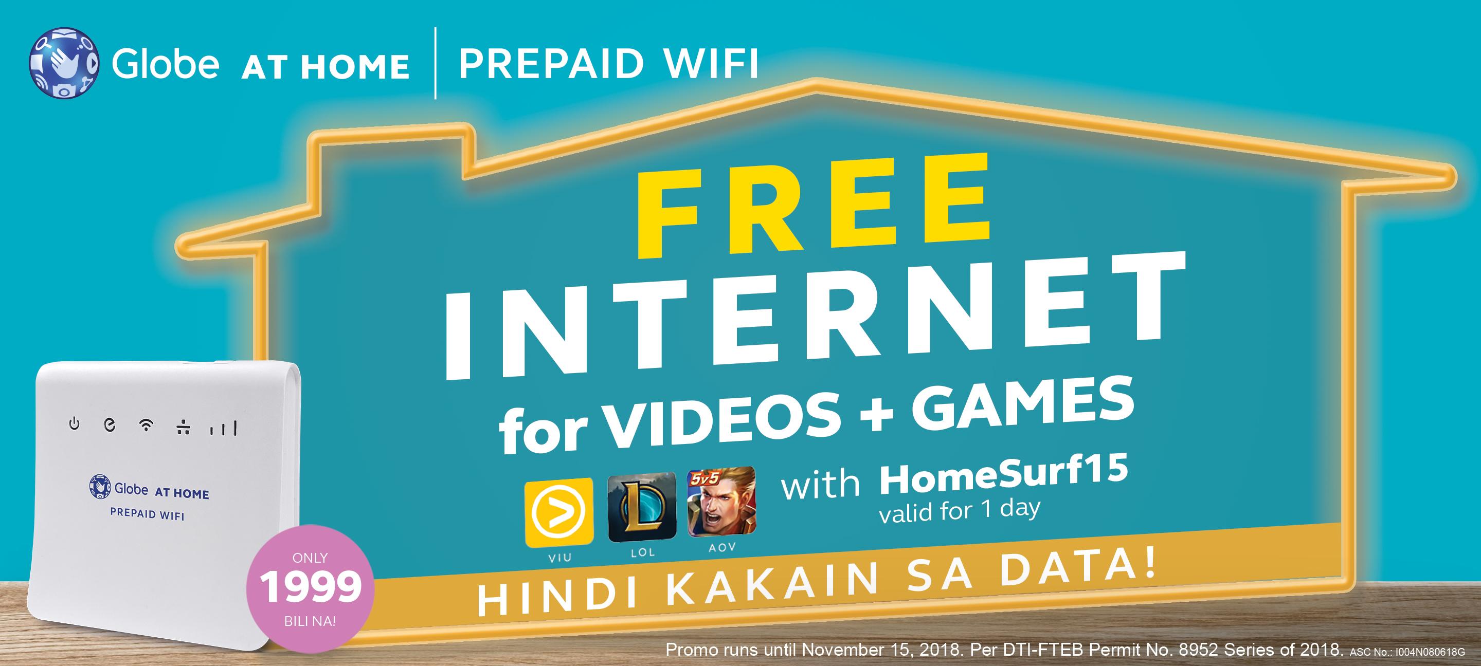 Level up your family bonding with FREE INTERNET