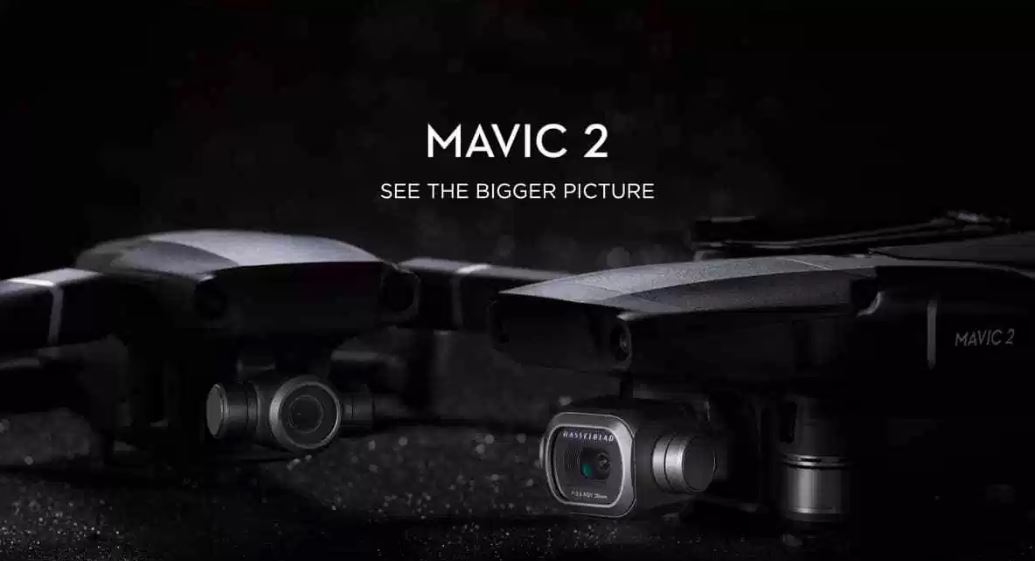 DJI Launches Mavic 2 Aerial Drone