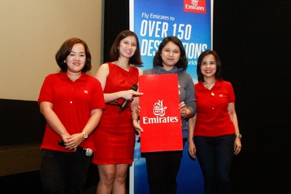 Emirates treats partners to a night of action and thrill