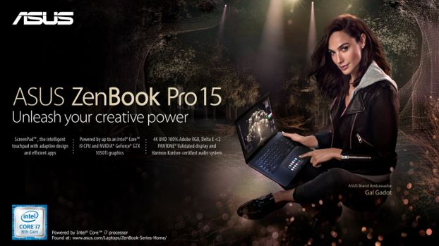 Unleash your creative power with the Zenbook Pro 15