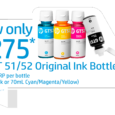Buy HP GT51/52 Original Ink Bottles for only PhP275 Maximize high-volume printing opportunities with your HP DeskJet GT printer by getting black and colored ink bottles for only Php275! Buy […]