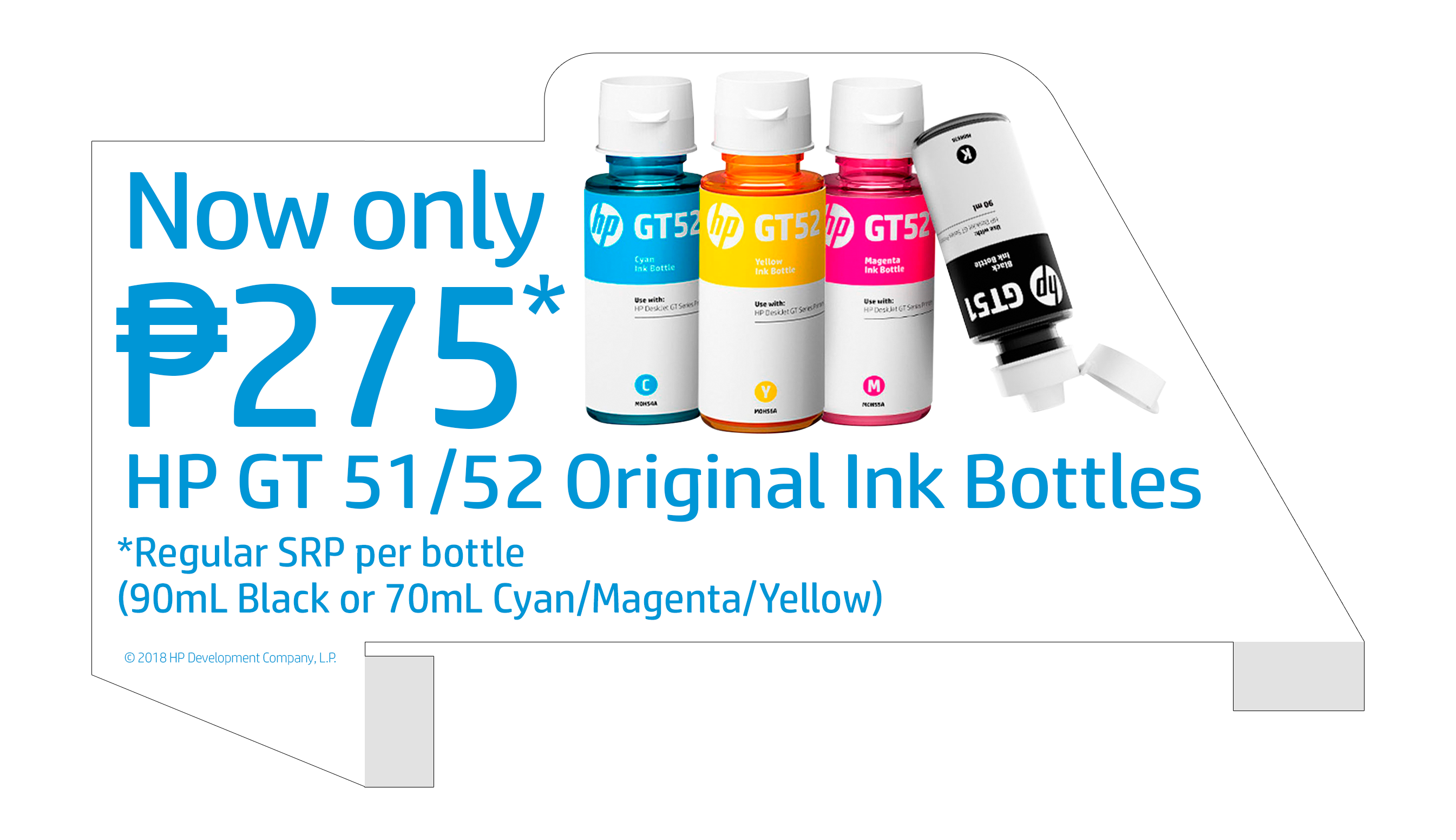 Buy HP GT51/52 Original Ink Bottles for only PhP275