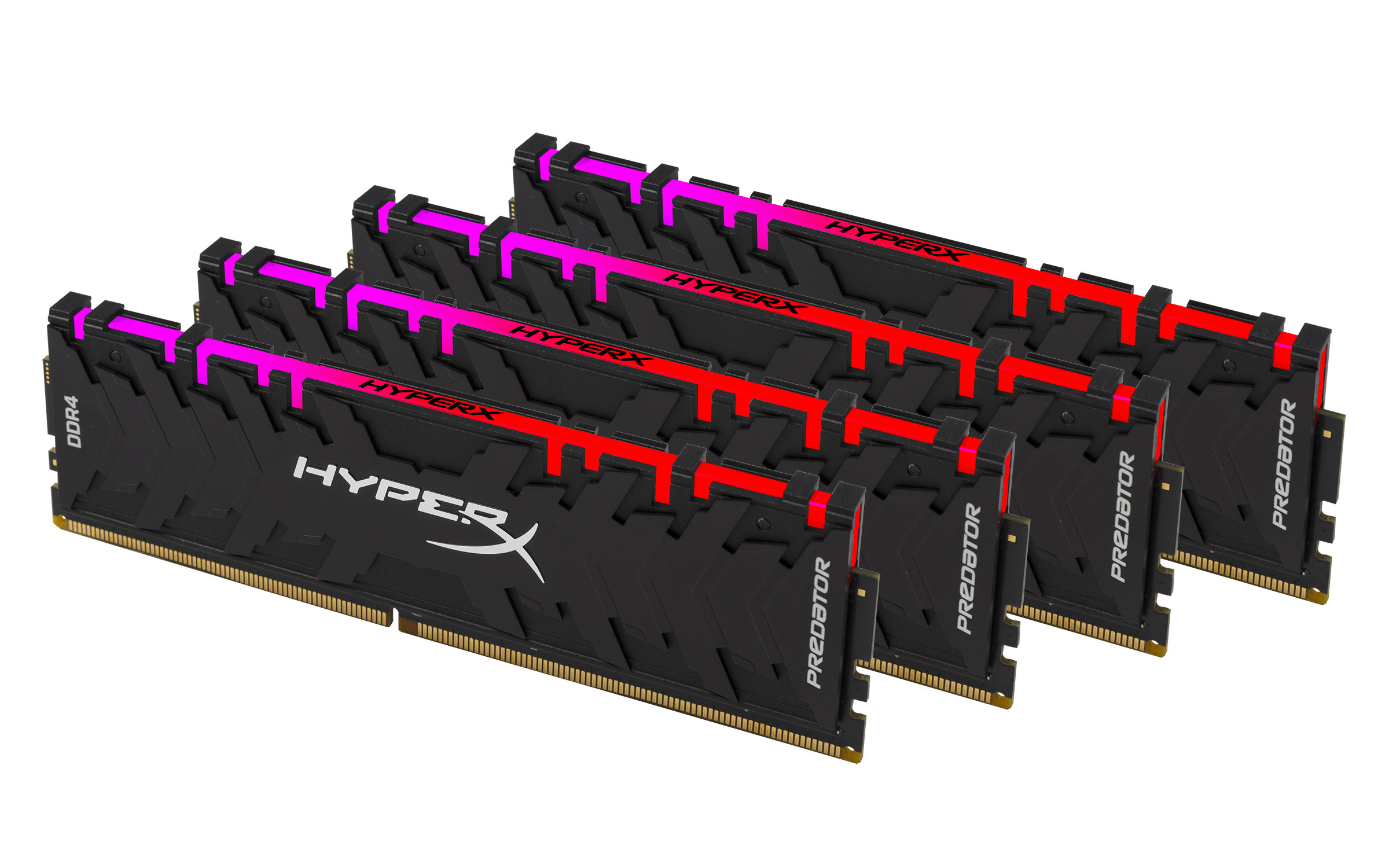 HyperX Expands Predator DDR4 RGB and DDR 4 Lineup