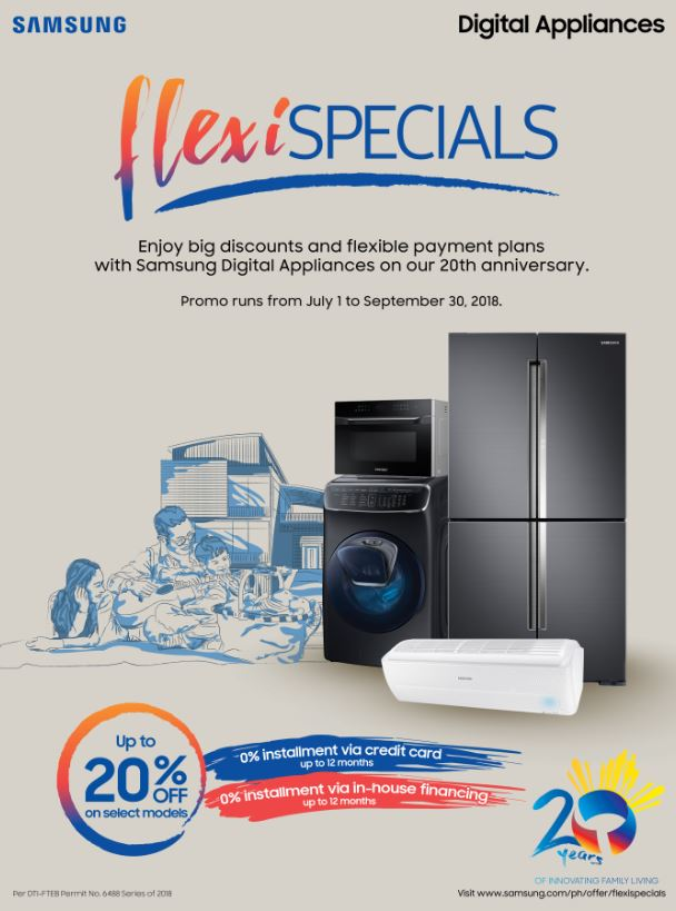 SAMSUNG Digital Appliances'  FlexiSpecials promo!