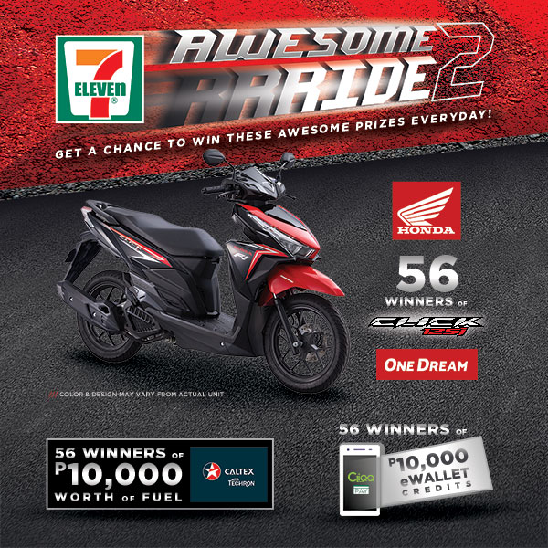 Beat traffic with 7-Eleven's Awesome Ride 2.0 Promo
