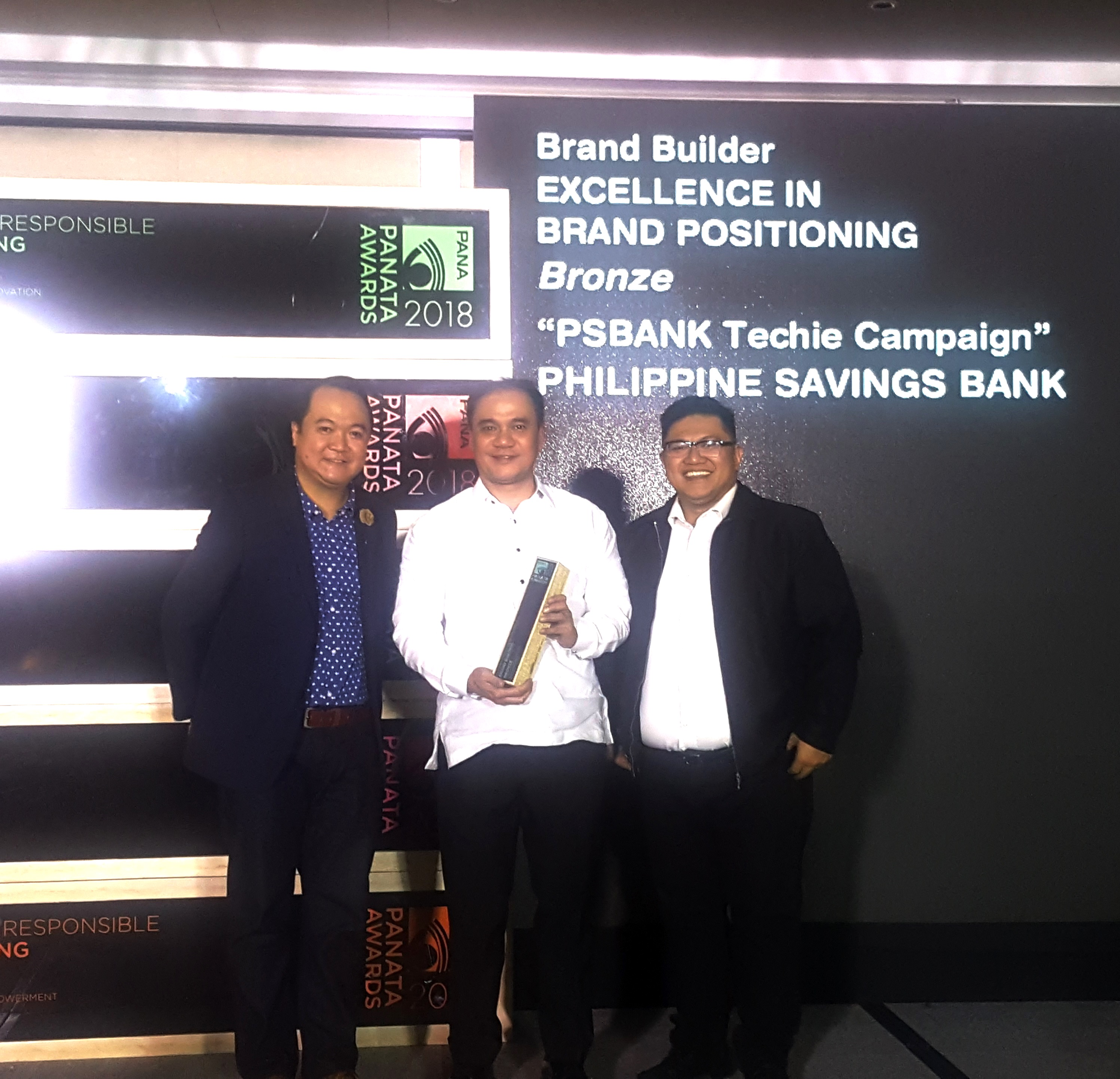 PSBank clinches Bronze in Brand Builder Excellence