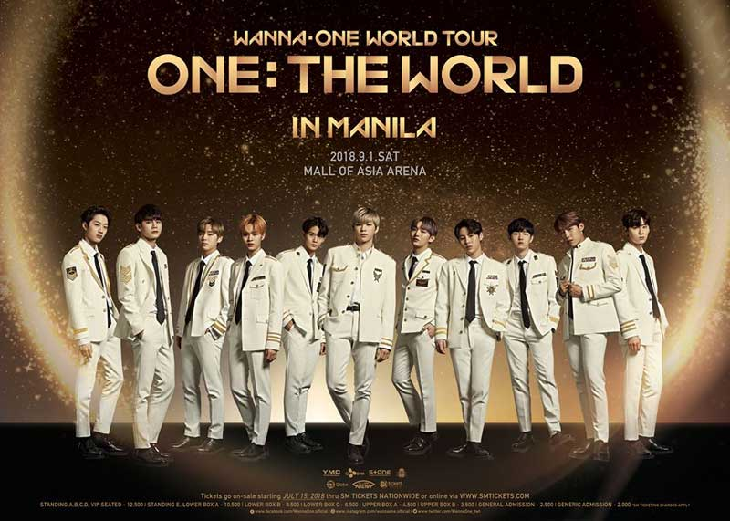 Wanna catch Wanna One live in Manila?