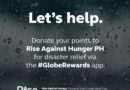 Globe sets up Rewards points donation for Ompong victims