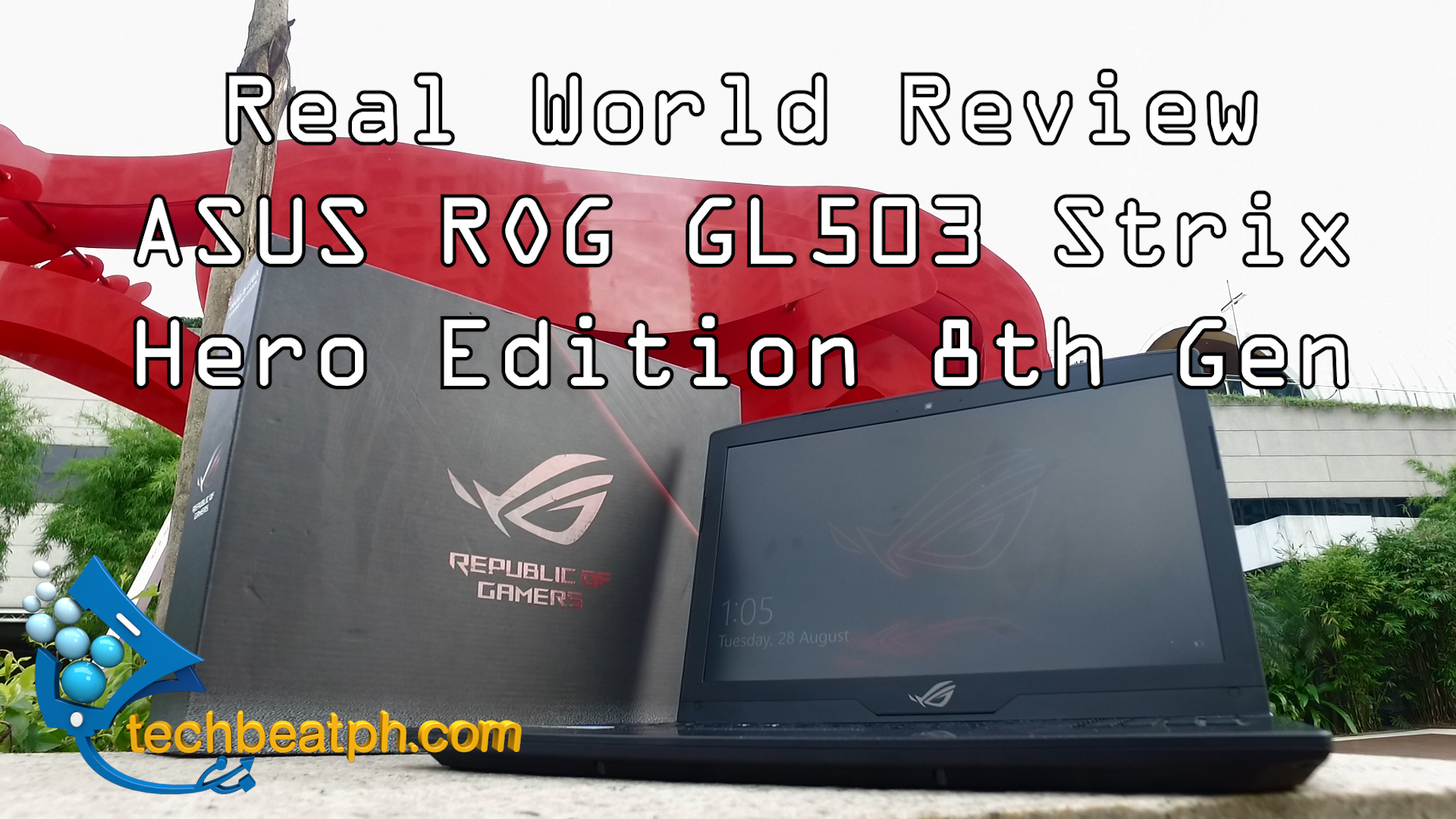 ROG Strix GL503 8th Gen Hero Real World Review
