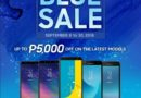 Get up to PHP 5,000 off The Great Samsung Blue Sale!