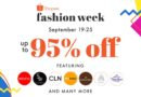 Shopee Fashion Week Gathers Leading Fashion Brands