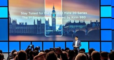 Huawei Launches the Mate 20
