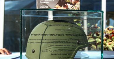 PNP to acquire state-of-the-art 3M ballistic helmets