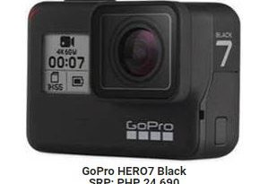 Go Pro Hero 7 The action camera for the Holidays