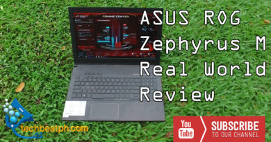 ASUS ROG Zephyrus M Real World Review