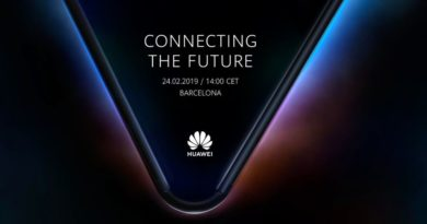Huawei Teases Foldable Phone for MWC