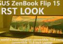 ASUS ZenBook Flip 15 UX562 First Look