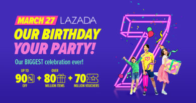 Lazada holds biggest online shopping party