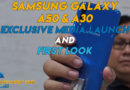 Samsung Galaxy A50 and A30 Media Launch