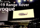 MIAS 2019 All-New Range Rover Evoque 2019 Preview