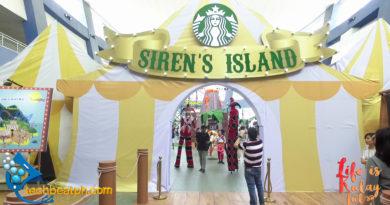 Starbucks Siren's Island Launch